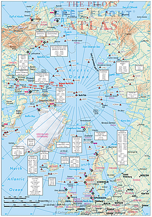 Pilots Atlas Eastern Hemisphere - Example pages